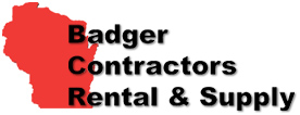 Badger Contractors Rental & Supply