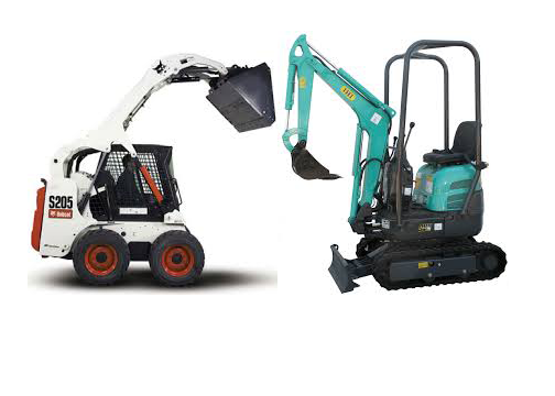 Skid Steer - Mini Excavator - Walk Behind Skid Steer - Attachments