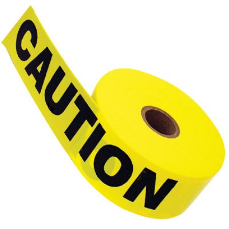 "Caution Tape 3"" x 1000' 3mil"