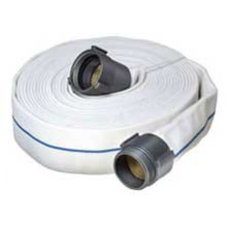 "3"" x 50' Mill Discharge Hose Coupled M X F"