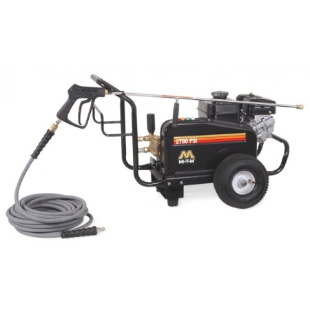 MI T M Belt Drive 2700 psi 2.4 GPM Cold Water Pressure Washer