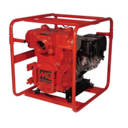 "MultiQuip QP4TH 4"" Trash Pump 555GPM Honda GX340"